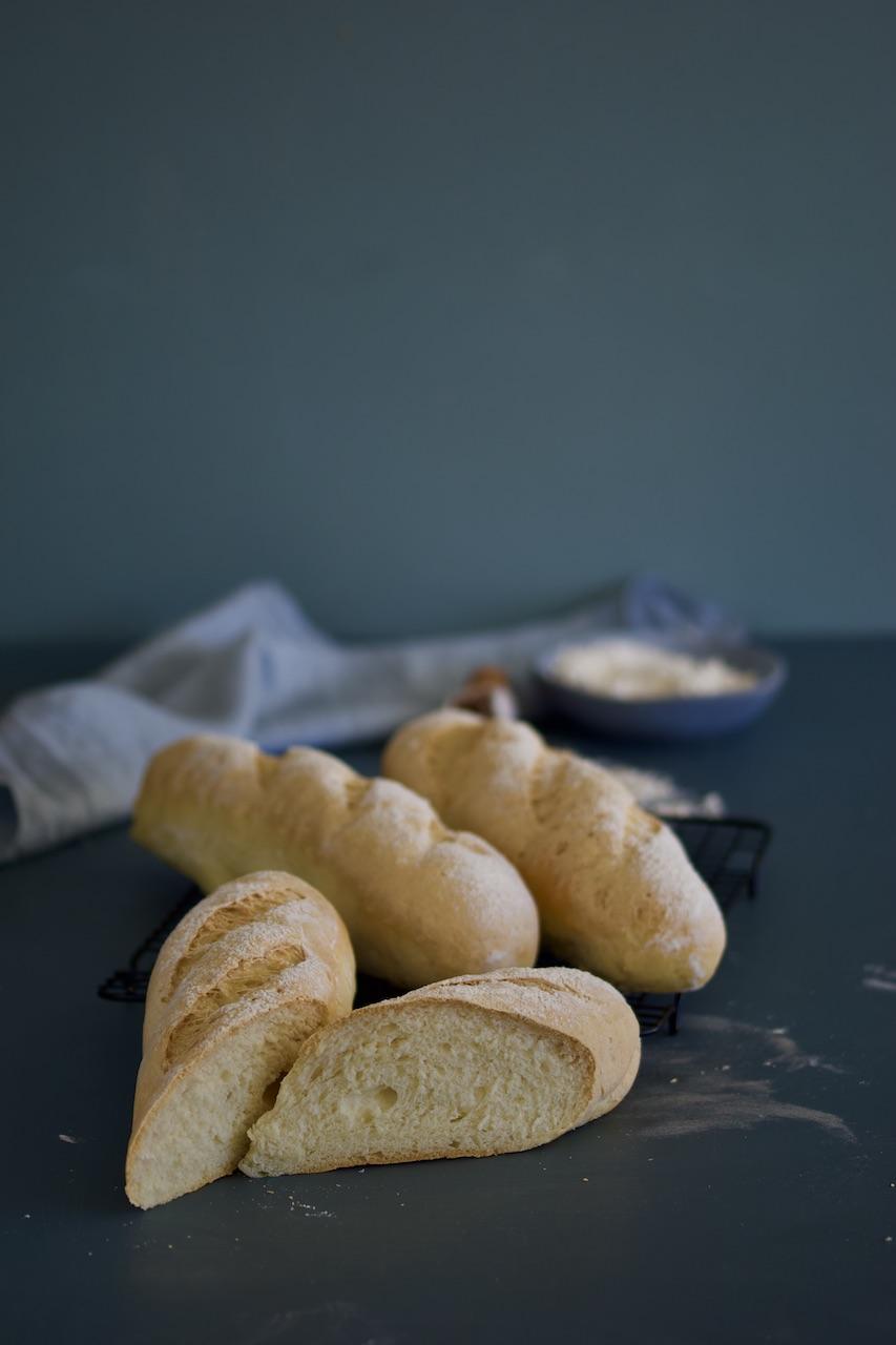 Glutenfrie baguetter