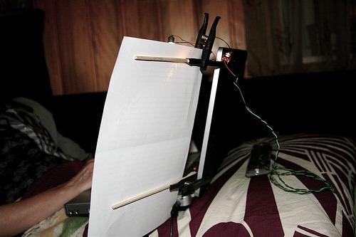 Mini-DIY : Laptop Document Holder