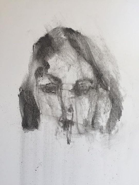 Elise, Charcoal