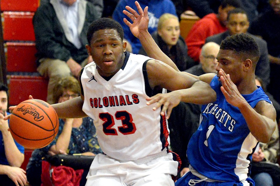 Plymouth Whitemarsh's Ahmin Williams works back from injury