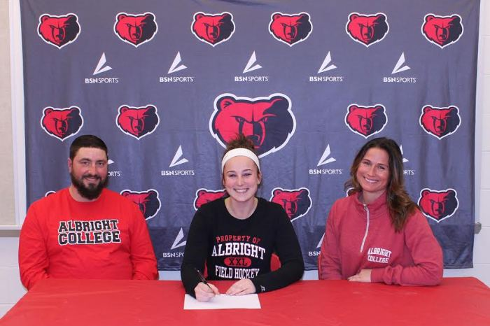 Boyertown's Hannah Gallagher selects Albright