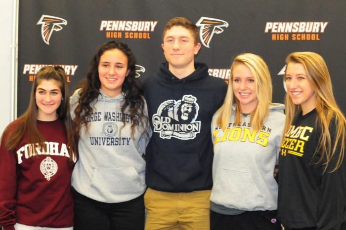 Five from Pennsbury taking game to next level
