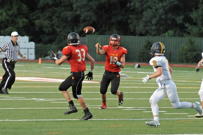 Penncrest fumbles away everything but a win