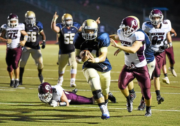 Rustin notches first win of season; ball control offense helps Golden Knights cruise