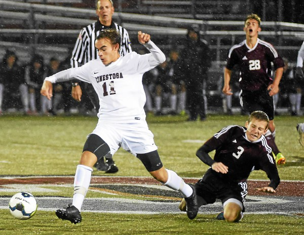 District One boys' soccer: Miller's late goal helps ...