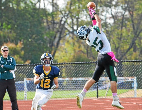 Pope John Paul II claims district spot despite loss to Methacton
