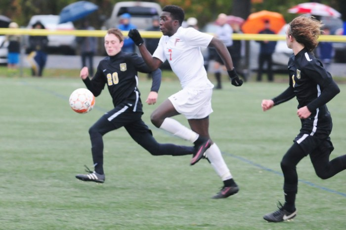 Pennsbury boys soccer runs away from Central Bucks West in District 1 playoff