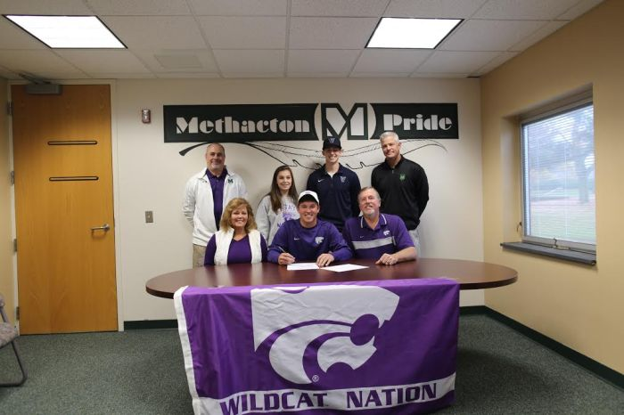 Methacton's Kyle Vance signs on with Kansas State