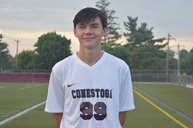 Conestoga center back Mike McCarthy is Main Line Boys Athlete of the Week