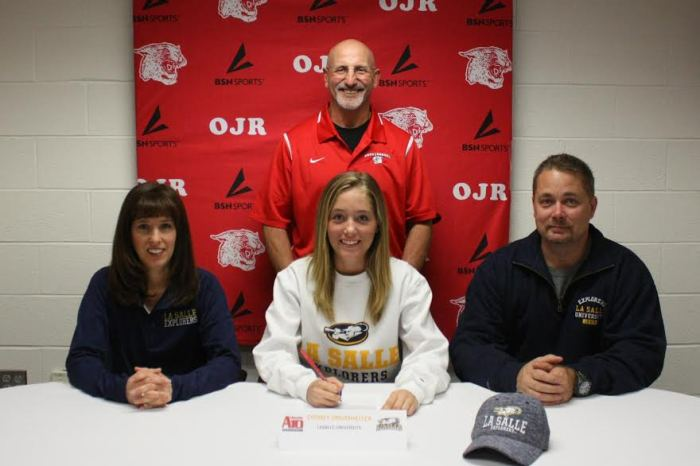 Owen J. Roberts' Sydney Drumheller signs on with La Salle University