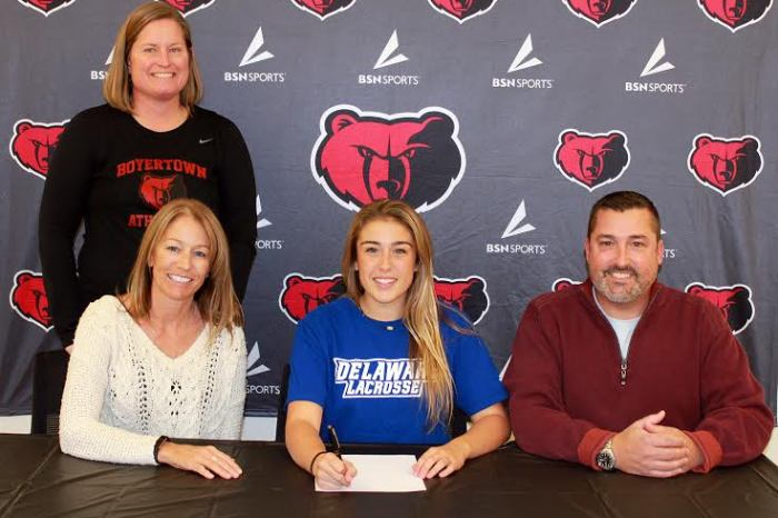 Boyertown's Wentzel signs on with University of Delaware