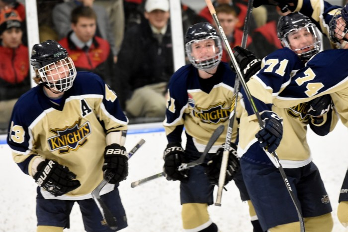 Rustin rolls past Hershey into fourth straight Flyers Cup final