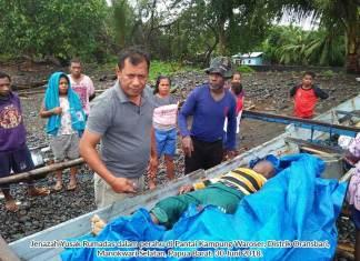 Seorang Pria dari Biak Dilaporkan Tewas Kena Petir dalam Perahu