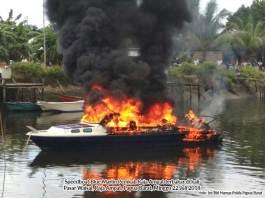 Speedboat Pemkab Raja Ampat Terbakar, Dua Korban