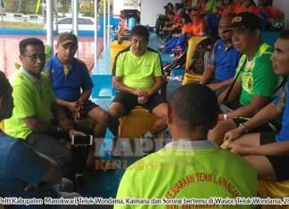 Empat Ketua Sepakat Desak Musprov Luar Biasa Pelti Papua Barat