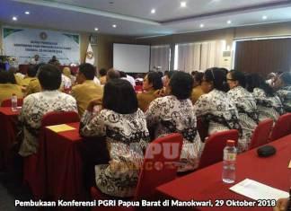 4 Tahun Berlalu, PGRI Papua Barat Baru Bisa Gelar Konferensi