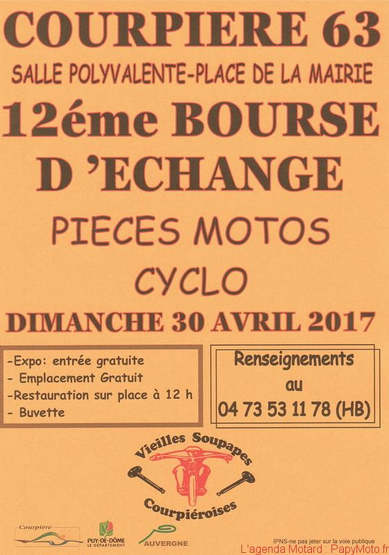 12e Bourse d'échange – Courpierre (63)