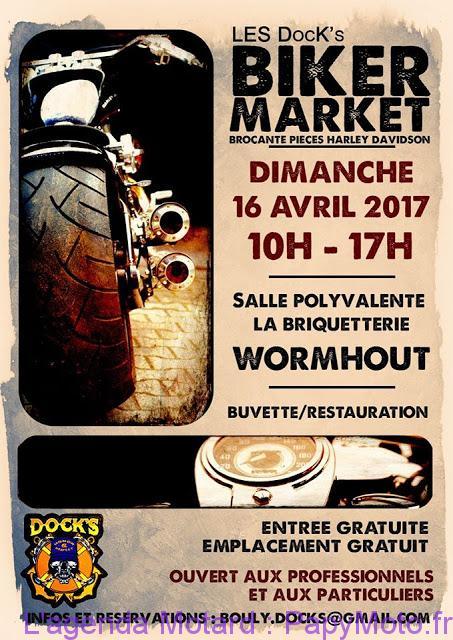 Les Dock's Biker Market – Wormhout (59)