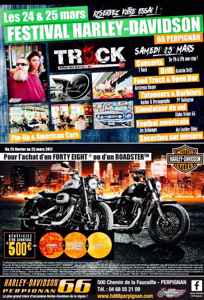 Festival Harley Davidson – Perpignan (66)