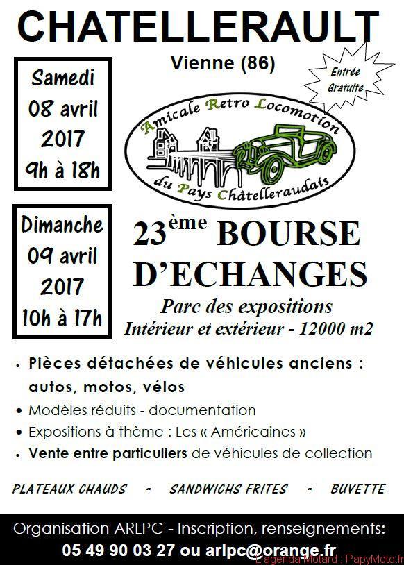 23e Bourse d'échanges – Chatellerault (86)