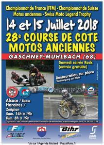 28e Course de Côte Motos Anciennes - Gaschney-Muhlbach (68) @ Gaschney-Muhlbach (68) | Stosswihr | Grand Est | France