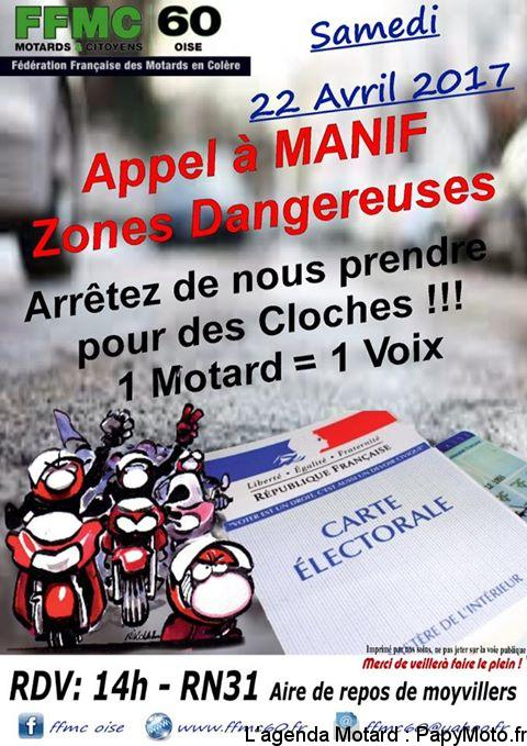Appel à Manif Zones Dangereuses -Moyvillers (60)