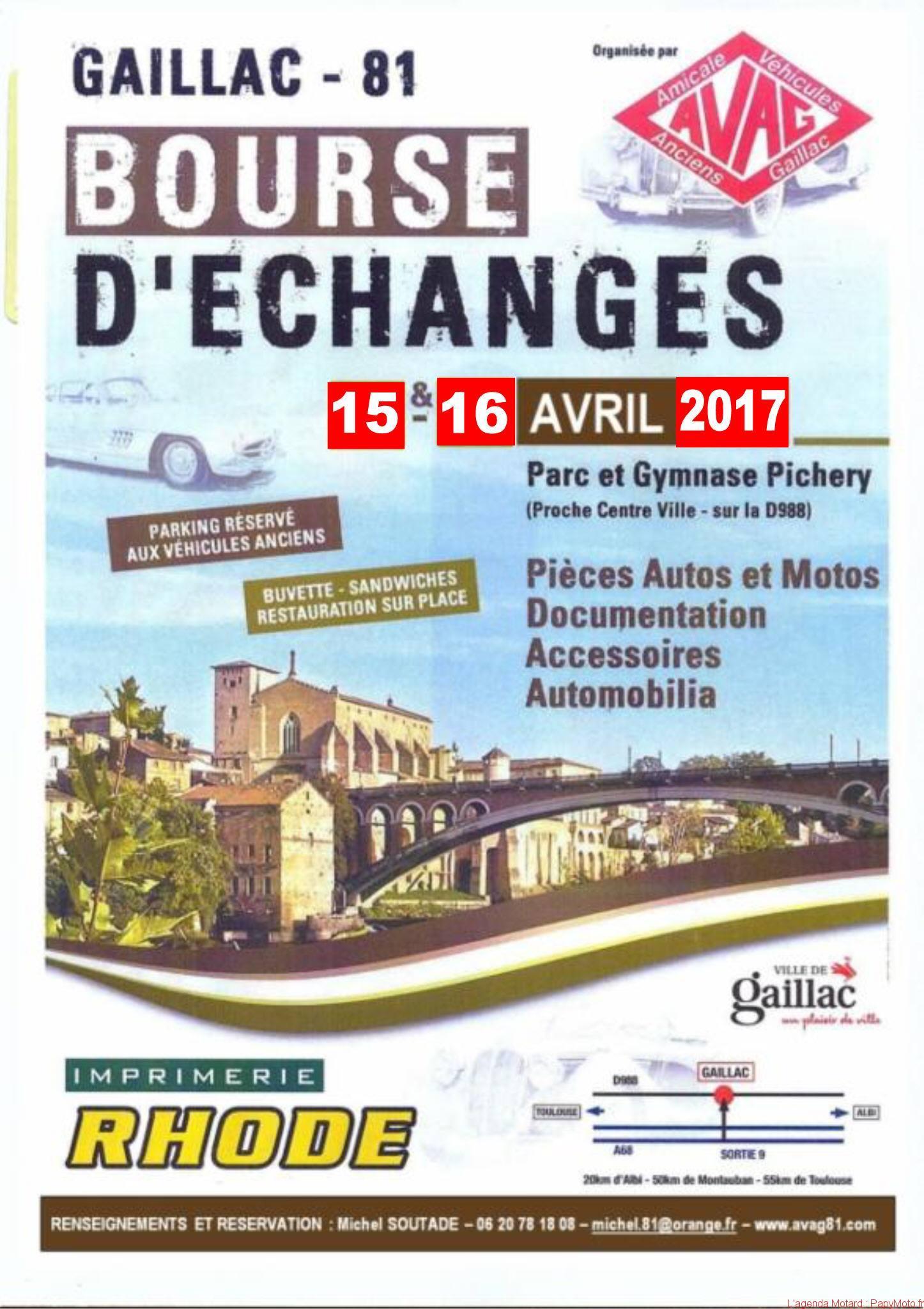 Bourse d'Echanges – Gaillac (81)