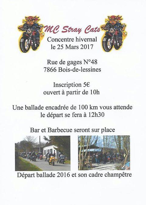 Concentre Hivernale – Bois-de-Lessines (Belgique)