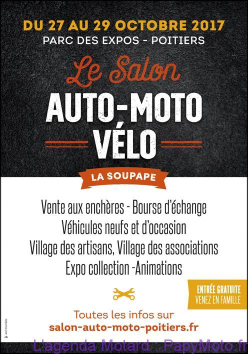 Le Salon Auto-Moto-vélo – Poitiers (86)