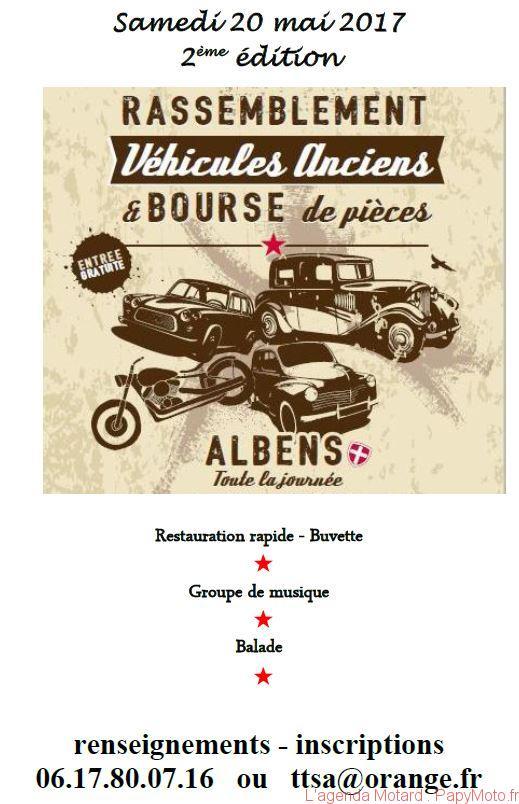 Rassemblement Véhicules Anciens – Albens (73)