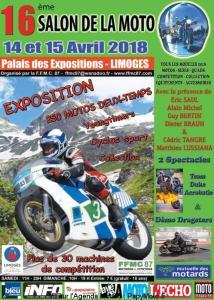 16e Salon de la Moto - Limoges (87) @ Palais des Expositions | Limoges | Nouvelle-Aquitaine | France