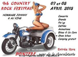 9th Country Rock Festival - Donzère (26) @ Parc de la Chocolaterie | Donzère | Auvergne-Rhône-Alpes | France