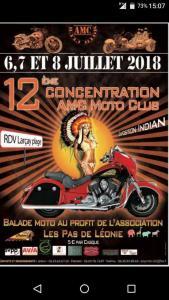 12e Concentration AMC Moto Club - Larçay Plage (37) @ Larçay Plage | Larçay | Centre-Val de Loire | France