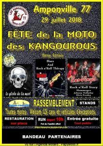 13e Fête de la Moto des Kangourous - Amponville (77) @ Amponville | Amponville | Île-de-France | France