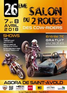 26e Salon du 2 roues des Cow-Riders - Saint Avold (57) @ Agora | Saint-Avold | Grand Est | France