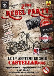 2e Rebel Party du Rebel Rider - Castellar (06) @ Castellar | Castellar | Provence-Alpes-Côte d'Azur | France