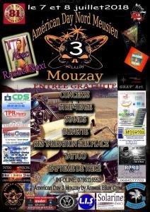 Américan Day Nord Meusien - Mouzay (55) @ Mouzay | Mouzay | Grand Est | France