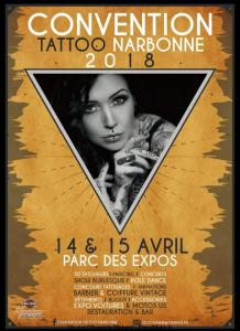 Convention Tatoo - Narbonne (11) @ Parc des Expos | Narbonne | Occitanie | France