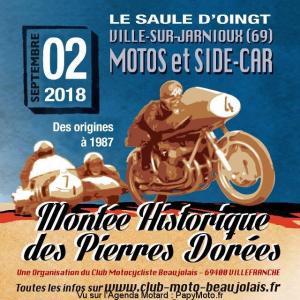 Montée Historique des Pierres Dorées - Ville sur Jarnioux (69) @ Le Saule d'Oingt | Ville-sur-Jarnioux | Auvergne-Rhône-Alpes | France