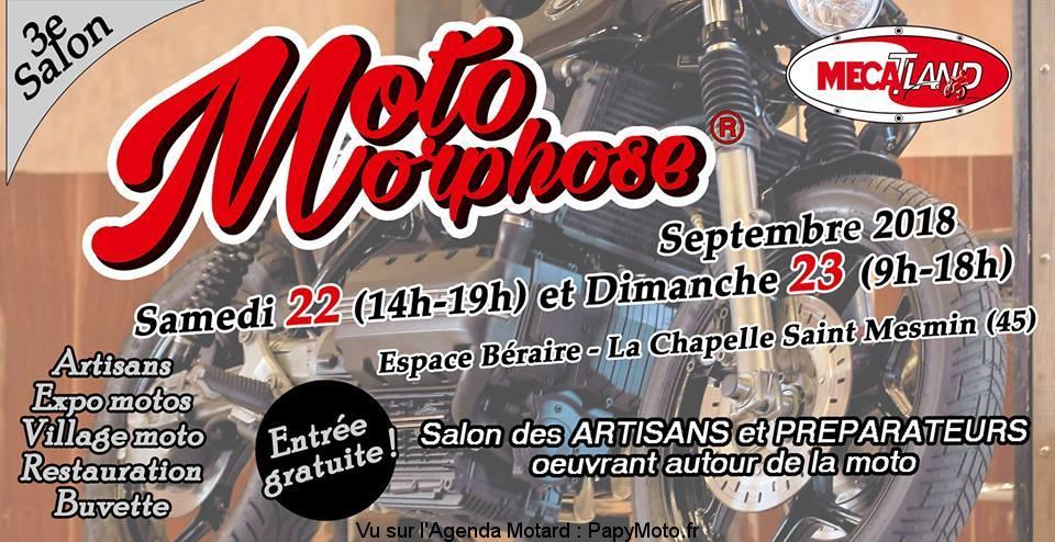 3e Salon Moto Morphose - La Chapelle Saint Mesmin (45)