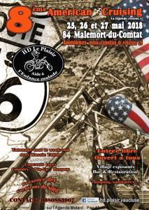 8E AMERICAN CRUISING À MALEMORT-DU-COMTAT (84) @ MALEMORT-DU-COMTAT (84) | Malemort-du-Comtat | Provence-Alpes-Côte d'Azur | France