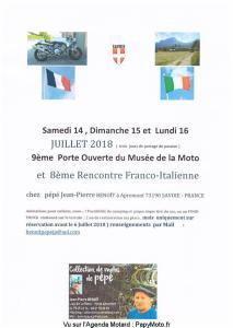 9e Porte Ouverte du musée de la Moto - Apremont (73) @ Apremont (73) | Apremont | Auvergne-Rhône-Alpes | France