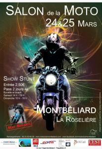Salon de la Moto - Montbéliard (25) @ La Roselière | Montbéliard | Bourgogne Franche-Comté | France