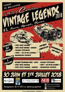 Vintage Légends - Contres (41) @ Terrain de Bellevue | Contres | Centre-Val de Loire | France