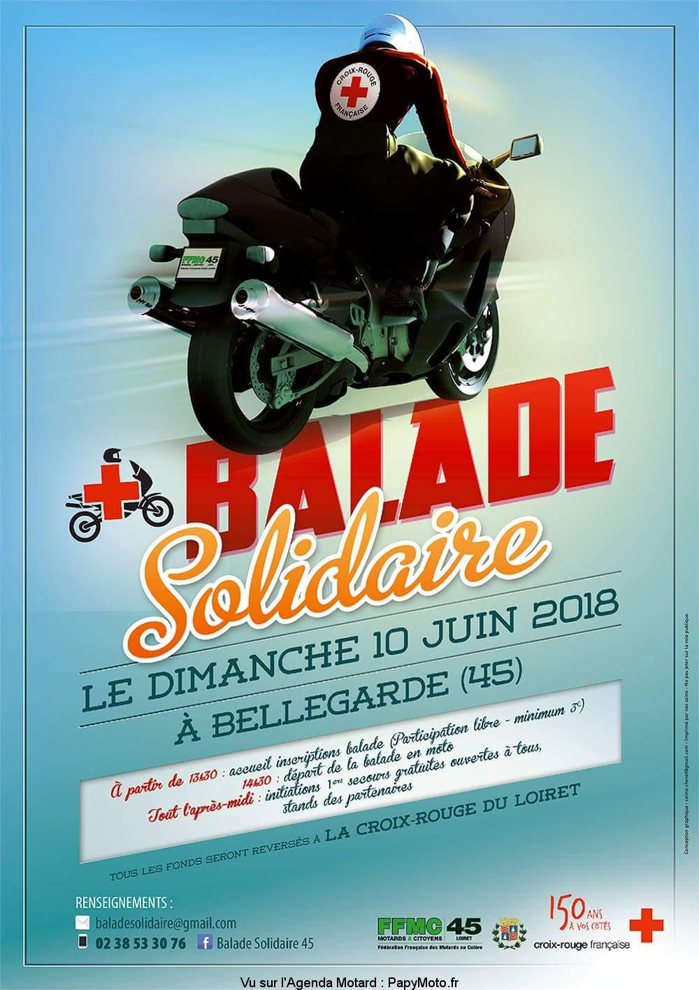 Balade Solidaire – Bellegarde (45)