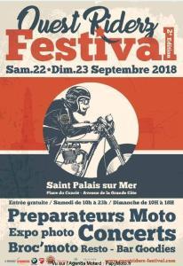 OUEST RIDERZ FESTIVAL – SAINT PALAIS SUR MER (17) @ Place du Concié | Saint-Palais-sur-Mer | Nouvelle-Aquitaine | France