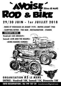 Rod & Bike - Avoise (72) @ Avoise | Avoise | Pays de la Loire | France