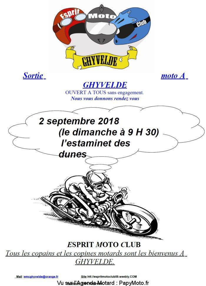 Sortie Moto – Ghyvelde (59)