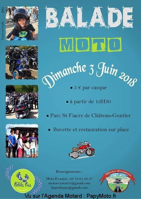 Balade Moto – Moto Evasion – Château-Gontier (53)