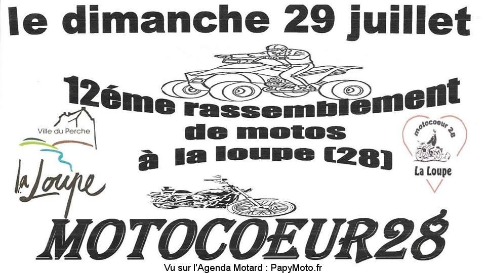 12E RASSEMBLEMENT – MOTOCOEUR28 – LA LOUPE (28)